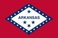Search Craigslist Arkansas - State Flag