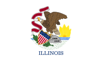 Search Craigslist Illinois - State Flag