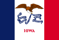 Search Craigslist Iowa - State Flag