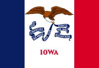 Search Craigslist Iowa - State Flag