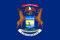 Search Craigslist Michigan - State Flag