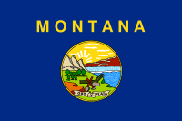 Search Craigslist Montana - State Flag