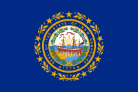 Search Craigslist New Hampshire - State Flag