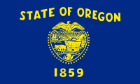Search Craigslist Oregon - State Flag