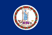 Search Craigslist Virginia - State Flag