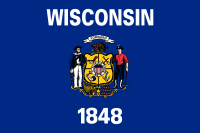 Search Craigslist Wisconsin - State Flag
